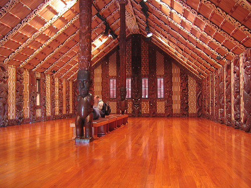 Marae at the Waitangi Treaty Grounds