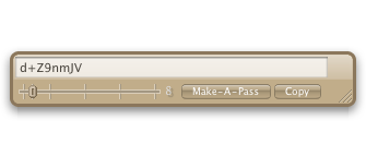 Make-A-Pass: front of interface